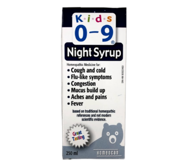 Picture of Kids 0-9 Cough & Cold Night Syrup 250mL