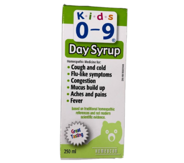 Picture of Kids 0-9 Cough & Cold Day Syrup 250mL