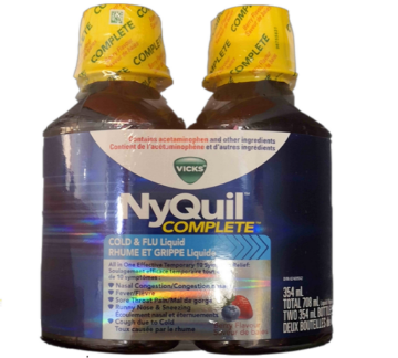 Picture of Vicks NyQuil Cold % Flu Liquid 354ML