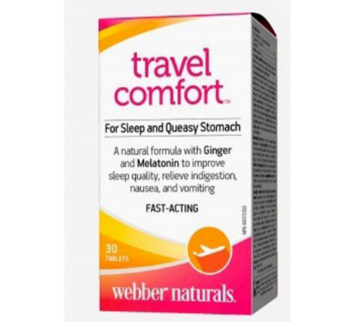 Picture of Webber Naturals Travel Comfort 30 Tablets