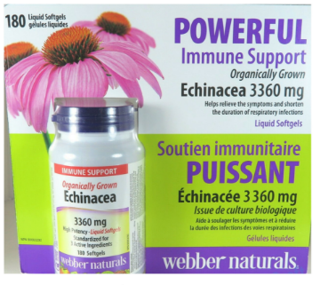 Picture of WEBBER NATURALS ECHINACEA 5040MG 160 SOFTGELS