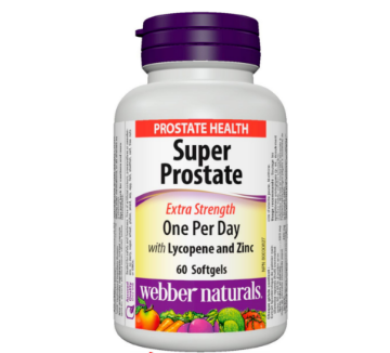 Picture of Webber Naturals Super Prostate Extra Strength One Per Day, 60sofrgels