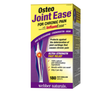 Picture of 【特价囤货】Webber Naturals Osteo Joint Ease with InflamEase -180 caplets