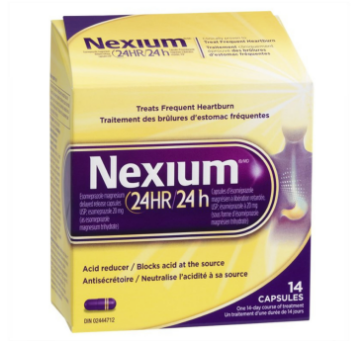 Picture of  Nexium 24 Hour Acid Reducer, Heartburn Relief Tablets- 14 capsules