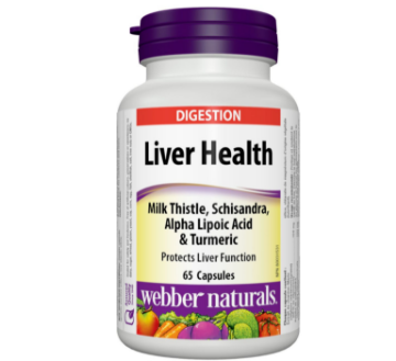 Picture of Webber Naturals Liver Health Milk Thistle 65 Capsules