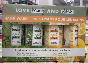 Picture of Love beauty planet hand wash 4x100ml