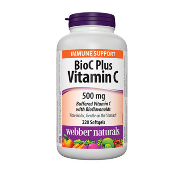 Picture of Webber Naturals BioC Plus Vitamin C 500 mg 220 Softgels