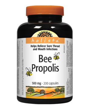 Picture of 【国内现货包邮】Holista Bee Propolis 500mg  -200 Capsules