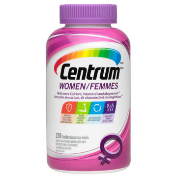 Picture of 【国内现货包邮】Centrum Complete Multivitamin Supplement for Women -250 Tablets