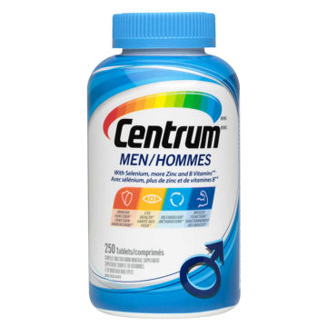 Picture of 【国内现货包邮】Centrum Complete Multivitamin Supplement for Men - 250 Tablets
