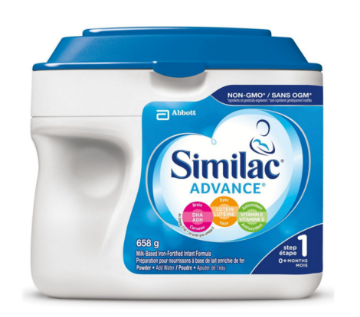 Picture of 【特价奶粉包邮】Similac Advance Step 1 Baby Formula Powder + DHA (0~12Months)- 658g