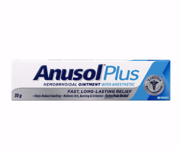 Picture of Anusol Plus Hemorrhoidal Ointment With Anesthetic 30g