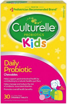 Picture of Culturelle Kids Daily Probiotic Chewables -30 Capsules