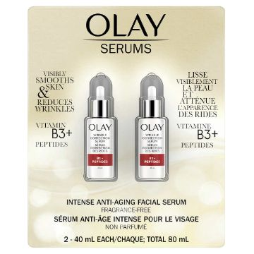 Picture of Olay Serums Wrinkle Correction Serum, 2 x 40 mL
