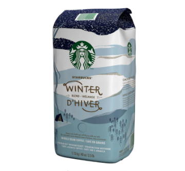 Picture of Starbucks Winter Blend Whole Bean, 1.13 kg