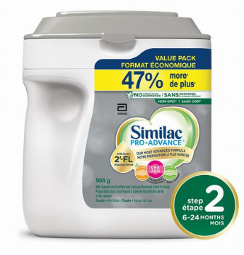 Picture of Similac Pro-Advance® Step 2 Baby Formula, 6-24 months, with 2'-FL