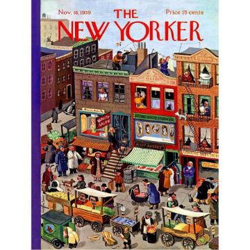 图片 NEW YORKER PUZZLE 1000PC MAIN STREET纽约客拼图 1000片