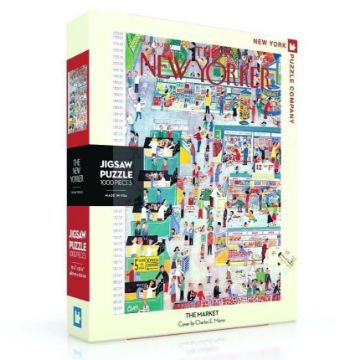 图片 NEW YORKER  PUZZLE  THE MARKET 纽约客拼图 1000片
