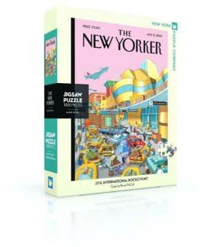 图片 NEW YORKER  PUZZLE J.F.K International Rocketport 纽约客拼图 1000片