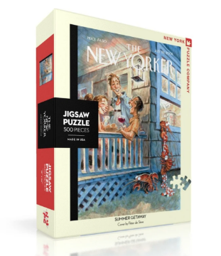 图片 NEW YORKER PUZZLE 500PC Summer Getaway 纽约客拼图  500片