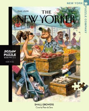 图片 NEW YORKER  PUZZLE 1000PC Small Growers纽约客拼图 1000片