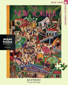 图片 NEW YORKER  PUZZLE 1000PC Day At The Zoo纽约客拼图 1000片