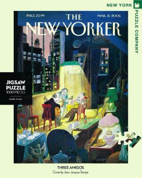 图片 NEW YORKER  PUZZLE 1000PC Three Amigos纽约客拼图 1000片